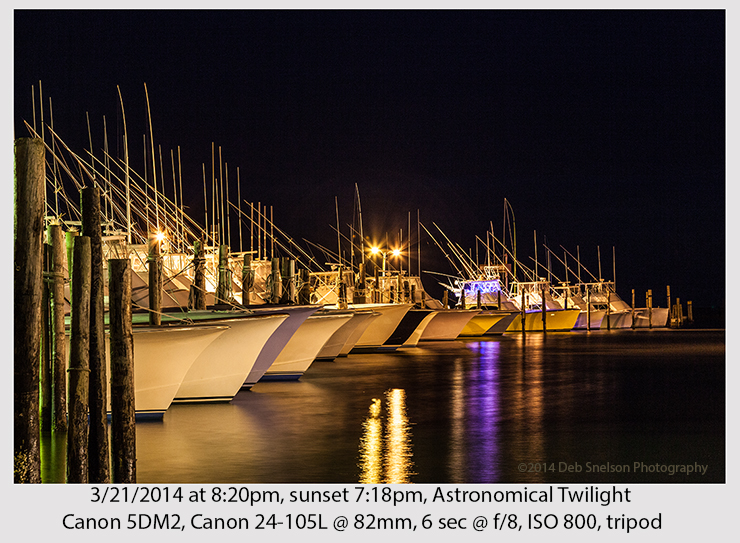 Oregon Inlet Boats at night 720 publication
