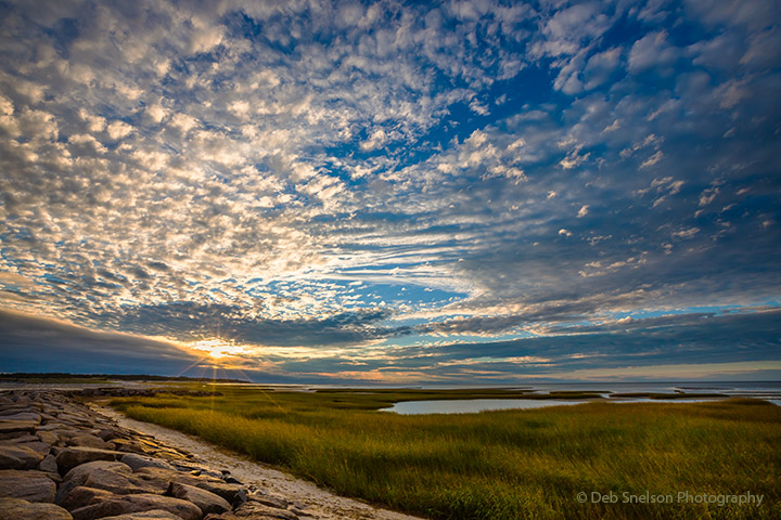 Paines Creek Sunset Brewster Cape Cod Massachusetts