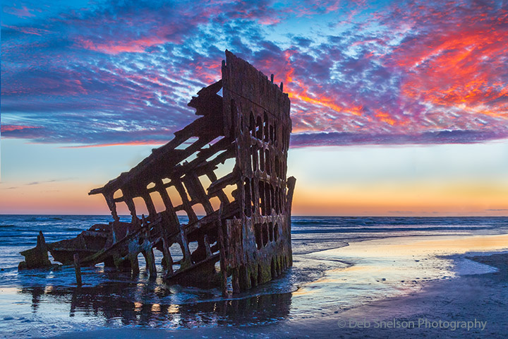 Wreck of the Peter Iredale, Hammond, Oregon