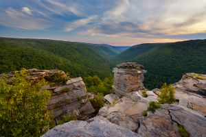 Sunset Lindy Point Blackwater Falls State Park West Virginia.jpg