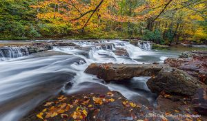 Campbell Falls Camp Creek State Park West Virginia waterfall autumn.jpg