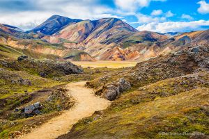 Landmannalauger Rhyolite Mountains and Lava Flows Iceland.jpg