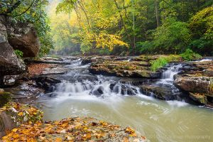 Mill Creek a New River Tributary in Ansted West Virginia Waterfall Autumn (3).jpg