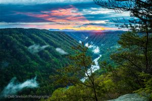 Beauty Mountain Sunset Glow West Virginia New River Gorge Fayetteville WV.jpg
