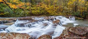 Campbell Falls Camp Creek State Park West Virginia autumn waterfall.jpg
