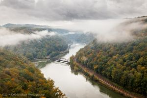 New River Gorge from Hawks Nest State Park West Virginia WV.jpg