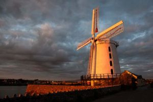 Blennerville Windmill, Tralee, Kerry, Ireland