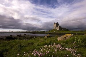 After the Storm - Dunguaire Castle, Galway Ireland