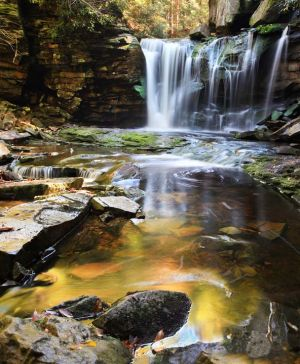 Elakala Falls, Blackwater Falls State Park, West Virginia