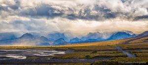 Glacial outwash Plain Thorsmork Valley Iceland.jpg