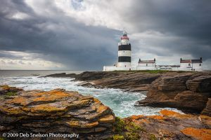 Storm Brewing at Hook Head Lighthouse, Wexford, Ireland