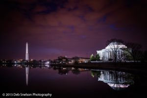 Jefferson Memorial and Washington Monument, Washington DC