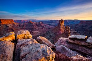 Marlboro Point Alpen Glow near Canyonlands National Park Utah.jpg