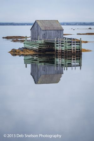 Morning Tranquility Blue Rocks Fishing Village, Nova Scotia Canada