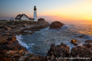 Portland Head Light at Dawn, Portland Maine