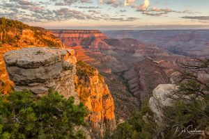 Sunrise First Light from Grandview Grand Canyon.jpg