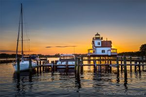 Sunset in Edenton NC Roanoke River Lighthouse.jpg