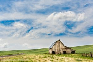 Abandoned barn with Van Gogh Sky Endicott Washington Palouse-c76.jpg