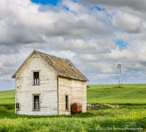 Abandoned farm house and windmill Storment Road Endicott Palouse Washington-c32.jpg
