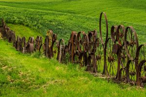 Wheel fence Uniontown Washington Palouse.jpg