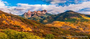 Cimarrons and Pleasant Valley Sneffels Range Chimney Rock Courthouse Mountain Colorado.jpg