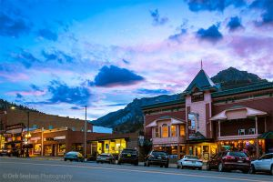 Main Street Ouray Colorado at blue hour.jpg