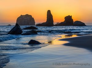 Bandon Beach Golden Sunset Pacific Coast Oregon.jpg