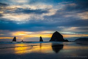 Cannon Beach Sunset with Haystack Rock Oregon-c73.jpg