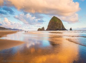 Golden Hour on Cannon Beach with Haystack Rock-c37.jpg