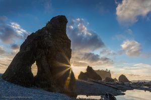 Old Rasputin Sunset on Ruby Beach Olympic National Park Washington.jpg