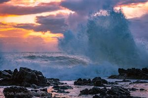 Thors Well High Tide and Sunset Oregon Coast.jpg