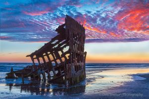 Wreck of the Peter Iredale after Sunset-c88.jpg