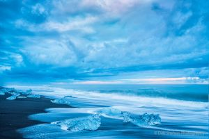 Jokulsarlon black beach and icebergs Iceland.jpg
