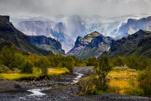 Road into Thorsmork Valley and Gigjokull Iceland.jpg