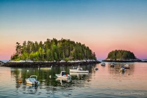 Pink Skies in the Morning Five Islands Maine.jpg