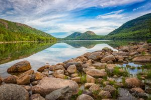 The Bubbles at Jordan Pond in Acadia National Park Maine.jpg