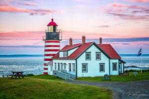 West Quody Head Lighthouse at Sunset Lubec Maine.jpg