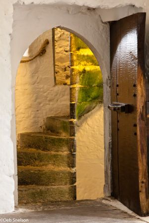 Aughnanure Castle doorway County Galway Ireland.jpg