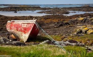 Boat at Glassilaun Quay County Galway Ireland.jpg