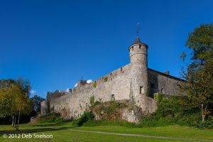 Cahir Castle curtainwall Tipperary Ireland.jpg