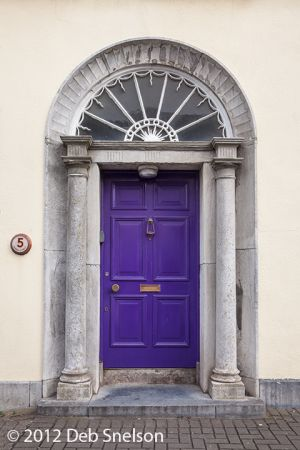 Colorful Kinsale door village Cork Ireland.jpg