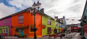 Colorful square Kinsale village Cork Ireland.jpg