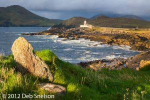 Cromwell Point Lighthouse Sunset Valencia Kerry Ireland.jpg