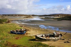 Cruit Island Fishing boats Donegal Ireland.jpg