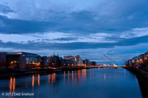 Dublin at Night City Ireland River Liffey dusk.jpg