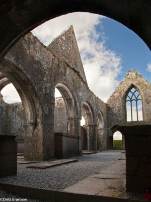 Ross Errilly Friary, County Galway, Early Christian Ireland, ruin, arches.jpg