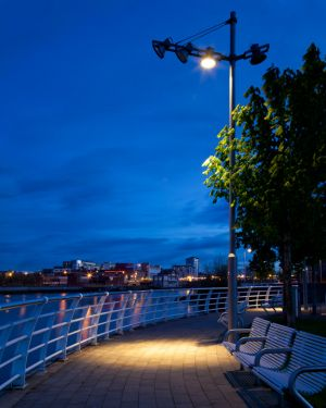 Spotlight on Limerick at Dusk County Limerick Ireland.jpg