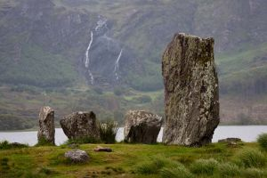 Uragh Stone Circle waterfall Kerry Ireland.jpg
