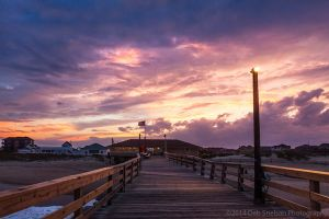 Avon Pier Sunset Avon Outer Banks North Carolina.jpg