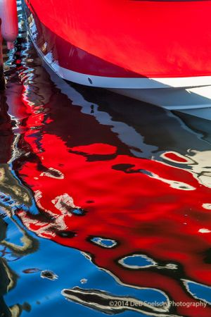 Boat Reflection Manteo Outer Banks North Carolina.jpg